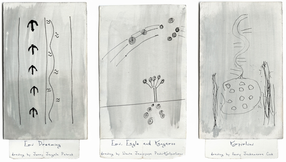 LS 43 Three Warlpiri Drawings copy
